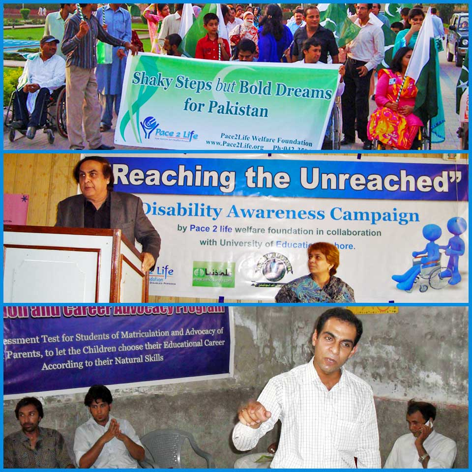 Awareness Campaigns by Pace2Life